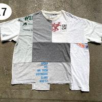 B「世界に1つだけのTシャツ(リメイク)」【Sustainable Line プリントTシャツ【2nd】 ~ESTROISLOSE~