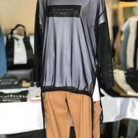 2020ss チュールプルオーバー×プリントTシャツ ~herencia~