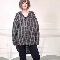 2020~2021aw チェックゆるシャツ~ayane/アヤン~