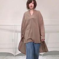2020~2021aw スキッパーガーゼプルオーバーシャツ~ayane/アヤン~