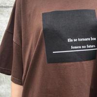 ボックスロゴTシャツ LER-2081 ~praia~
