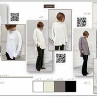 2020~2021aw  両面起毛ゆるTシャツ 870803~ayane/アヤン~