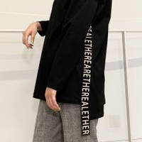 2020~2021aw  予約商品!  サイドロゴベルトロングTシャツ850733  ~ayane/アヤン~