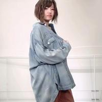 2020~2021aw テンセルデニムシャツジャケット ~ayane/アヤン~