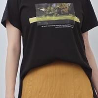 2020ss  フォトプリントタックデザインーTシャツ ~herencia~
