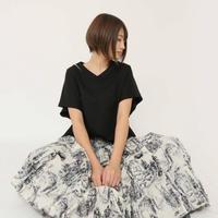 2020ss プリントゴアードスカート ~ayane/アヤン~