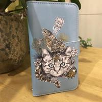スマートフォンケース/iphone X/Xs(磯猫) ~オオジカオリ~