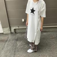2021s スタープリントチュニックTシャツ821506~ayane/アヤン~