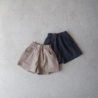 KIDS culotte pants  (2color)