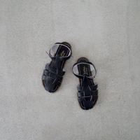 (23,5~25,1cm) SALT WATER SANDALS / Shark / black