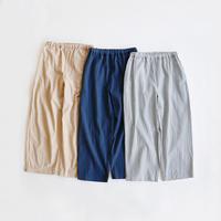 【オトナ】organic cotton flax pants (3color)