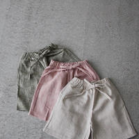 KIDS color halfpants  (3color)