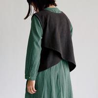 [オトナ]  Corduroy fine vest (2color)
