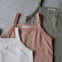 Jr.  basic camisole (3color)