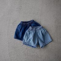 KIDS Denim shorts (2color)