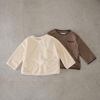 Jr.  fleece tops (2color)