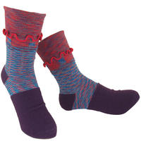 【nonnette】Charming Socks     NS236G-40/ purple