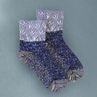 【Socks】 Growing plant  Socks    NS259T-88 (¥2,400 +tax)