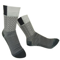 【Socks】 Square mark  Socks   NS246Y-90 (¥2,200 +tax)