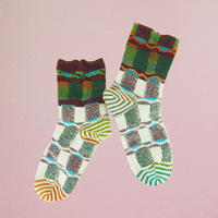 【Socks】Aurora view  Socks NS201Y- 4color(¥3,000 +tax)