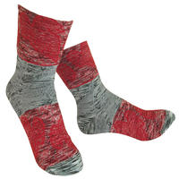 【nonnette】 Dancing leaf  Socks    NS238Y-90 / gray
