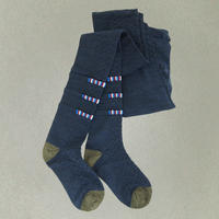 【nonnette】Front point wool  Tights NT104A- 3 color