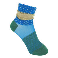 【SALE】Dot frill   Socks       NS196Y-80 / blue