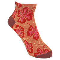【SALE】  Hibiscus Socks       NS192T-30 /  red