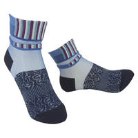 【Socks】See-through combination  Socks    NS224Y-87 (¥2,000 +tax)