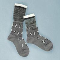 【Socks】 Baton Socks     NS245Y-90 (¥2,400 +tax)