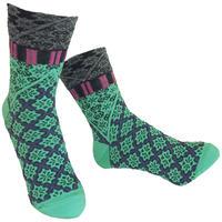 【Socks】 Fun grid  Socks    NS242G- 51 (¥2,400 +tax)