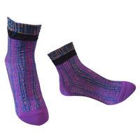 【Socks】 Irregular stripes  Socks    NS261Y-40 (¥2,000 +tax)