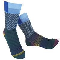 【Socks】 Square mark  Socks    NS246Y-88 (¥2,200 +tax)