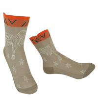 【Socks】 Bird fluttering Socks    NS248T-10 (¥2,200 +tax)
