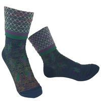 【Socks】 Baton Socks     NS245Y-88 (¥2,400 +tax)
