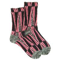 【Socks】Geometric line  Socks    NS237G-99 (¥2,800 +tax)