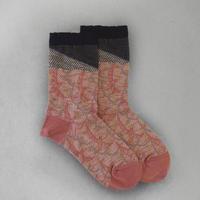 【Socks】 Flapping bird line  Socks    NS262Y-37 (¥2,200 +tax)