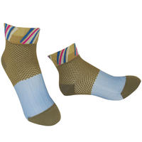 【Socks】 See-through combination  Socks   NS257Y-55 (¥1,800 +tax)