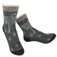 【Socks】 Bird fluttering Socks    NS248T-87 (¥2,200 +tax)