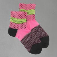 【SALE】Dot frill   Socks       NS196Y-34 / pink