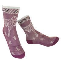【Socks】 Bird fluttering Socks    NS248T-40 (¥2,200 +tax)