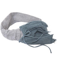 【nonnette】Volume ruffle  Headbands       HH063R-92/ blue gray