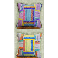 【Goods】 CUSHION  HC45-117Y - 43/lilac , 90/gray