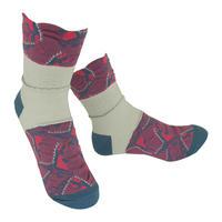 【nonnette】 Stegosaurus  Socks      NS218Y- 79/ mole blue