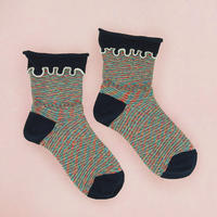 【Socks】 Lumberjack Socks    NS244G-88 (¥2,400 +tax)