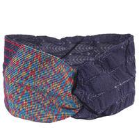 【nonnette】 Marblecolor  sporty   Headbands       HH023Y-48/purple navy