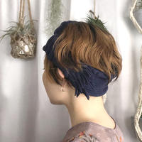 【Headbands】Fringe mix  Headbands HH055R- 88 (¥4,600 +tax)