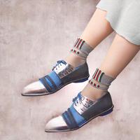 【Socks】See-through combination  Socks    NS224Y-77 (¥2,000 +tax)