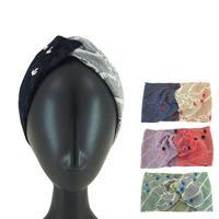 【nonnette】Cactus  Headbands  HH054T- 4 color