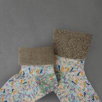 【Socks】 Growing plant  Socks    NS259T-01 (¥2,400 +tax)
